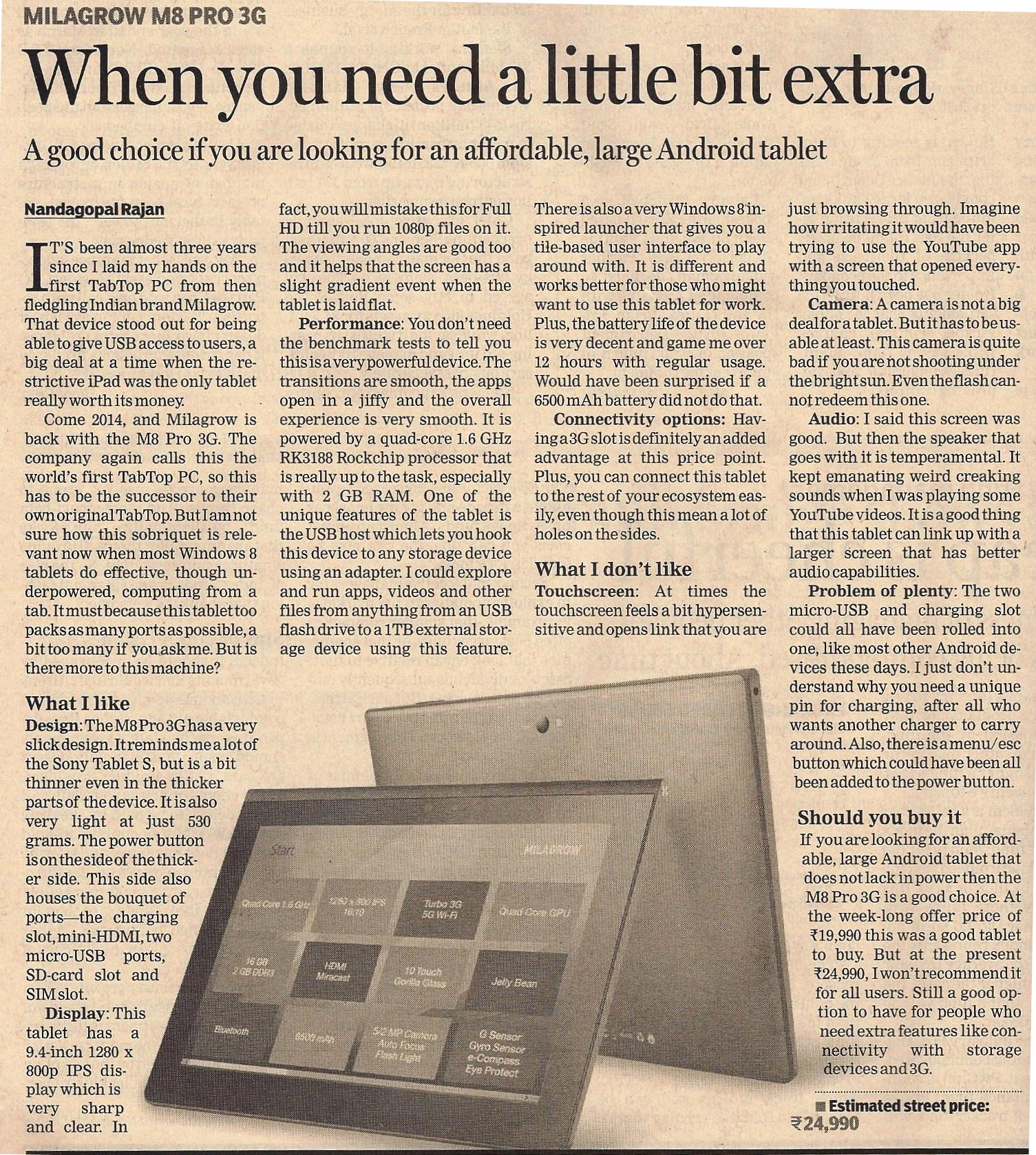 Financial express 8th May 2014.jpeg