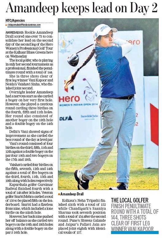 Hindustan Times, Chandigarh, 15th jan, (30)