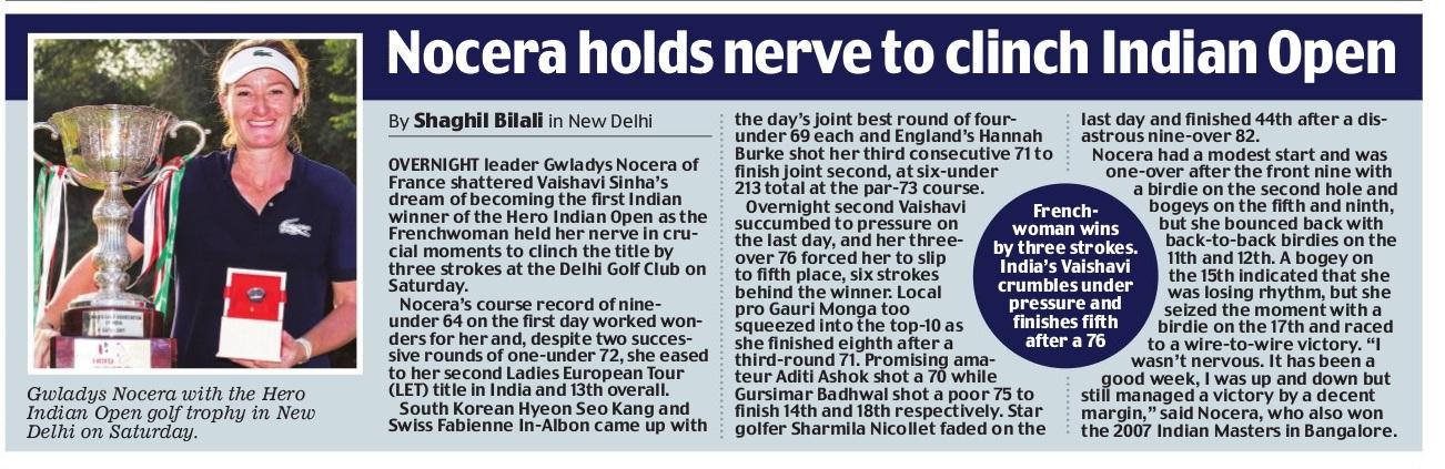 Mail Today, New Delhi, 7th December 2014 pg 41
